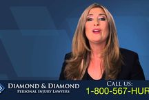 Videos / Watch through our Diamond & Diamond videos to learn more about the company and what we stand for. | If you've been injured or in an accident, call one of our personal injury lawyers on our 24/7 hotline at 1-800-567-HURT (4878) or contact us here. We will provide a free consultation or second-opinion to make sure you're getting the compensation you deserve.