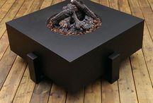 Fire & Steel by Babin Ironworks / Custom fabricated wrought iron (steel) fireplaces and firepits by Babin Ironworks in North Bay, Ontario.
