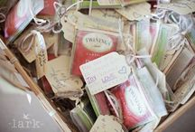 Party Favours and Hostess Gifts / Interesting ideas to delight your guests and remind them of a wonderful occasion or when you just want to say thank you.