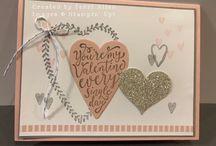 Valentinstagskarten
