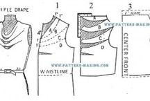 sewing | pattern cutting/adjusting / by Lieke // A Bouquet of Buttons