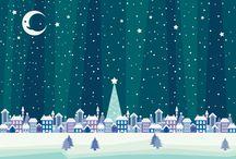 クリスマス系デザイン