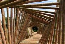Ponti in bambù