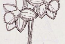 Lace - Floral / Bobbin Lace