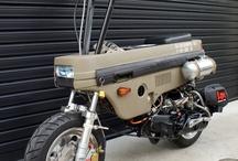 motorcyklar concept