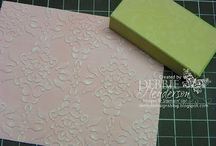 Cards sanding block
