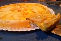 Tarta de manzana y flan, rápida y fácil. / Tarta de manzana y flan, rápida y fácil. http://golosolandia.blogspot.com.es/2013/03/Tarta-manzana-flan-rapida-facil.html