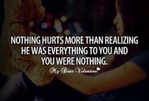 it hurts  </3