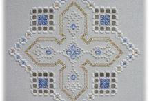 Hardanga embroidery