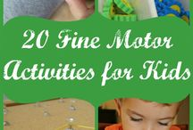 Fine motor activities / by Kylee Te Wani