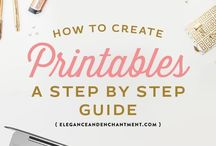 Printable Creation / How to Make Printables That Work!