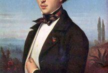 Men's portraits 1840s