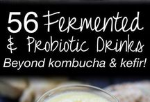 Probiotics / fermented drinks and food. Good for the gut.
