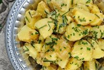 finnish summer potatoe salad - new potatoes