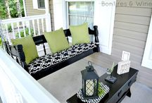 front porch swing Ideas / by Becca Paul