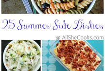Side dishes / by Jen St.Clair