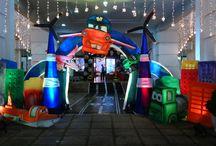 Aeroplane 3D Birthday Theme / Amazing Aeroplane Birthday Theme for your Kids Birthday.