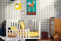 babykamer neutraal / babykamer met een neutrale uitstraling dus geschikt voor een jongen of meisje