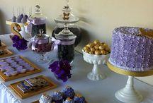 violet happy birthday ideas