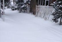 Winter Newton, Boston pictures  / Snow / by Margarita Gomez