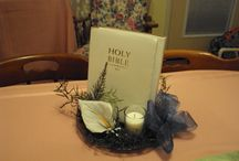 Table Decorations for Church / by Amanda Sowles