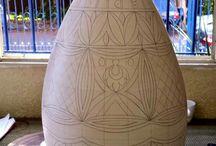 vase decorate