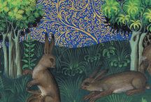 Art..Illuminated Manuscripts 2 / Herbiaries and Bestiaries, the portrayal of animals and plants, real or imaginary.