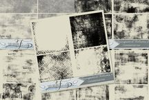 Transparents / Use these for extra texture or grunge on your papers!