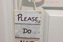 Please Do Not Disturb Sign, Signs