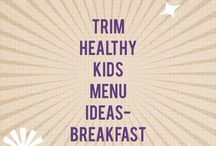 "a ""trim healthy mama"" board"
