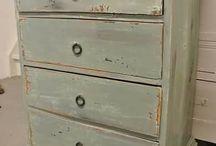 oude meubels schilderen