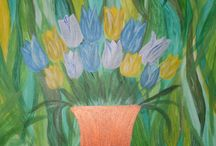 Karin Lisbeth  galleri 1 blomster