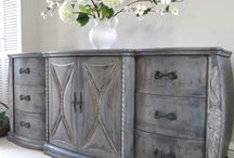 Chalk painted furniture / Painted furniture