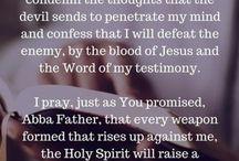 prayer board/quotes