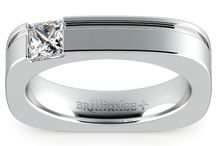 Men's Engagement Rings / Ok guys! Time to get in style and show true commitment with a unique men's engagement ring.