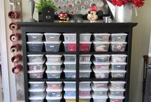 Craft room storage!! / by Shanning Skoog