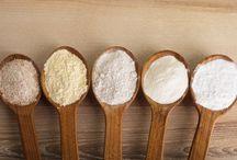 White flour and Dairy Free