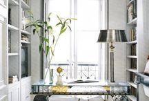 domowe biuro/ home office / domowe biuro- inspiracje home office inspirations