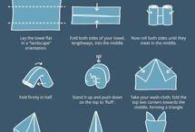 origami e arte del piegare i tovaglioli
