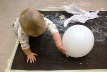 Värikylpy / Lasten kuvataidekasvatus