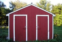 Shed Door Ideas /  Shed doors can either be pre-hung or custom built. There are simple design doors where you can use basic materials. Below are sample ideas you can use for your perfect shed door.