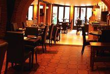 Restaurant cheminée