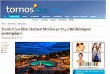 Skiathos Blue Horizon Studios Photoshooting by the famous artist photographer Danijel Jovanovic