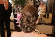 Bridesmaids hair accent  / by Camellia Johnson