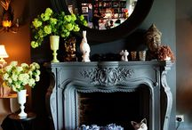 Fireplace / by Dreama Thompson