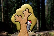 деревянный лес