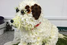 Funeral flowers / A collection of my Sympathy and funeral work- Julie Cambridge Floral design