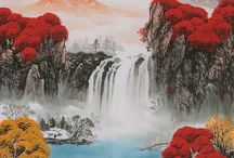 Chinese Mountains  Paintings / Chinese Mountains Paintings from CNArtGallery.com http://www.cnartgallery.com/59-chinese-mountains-paintings