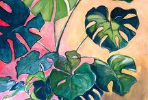 Paint Plants