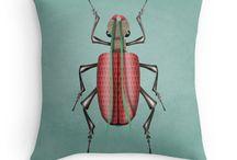 RedBubble POD - trow pillows